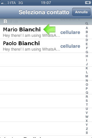 Bloccare Contatto Su Whatsapp da Iphone Step 4
