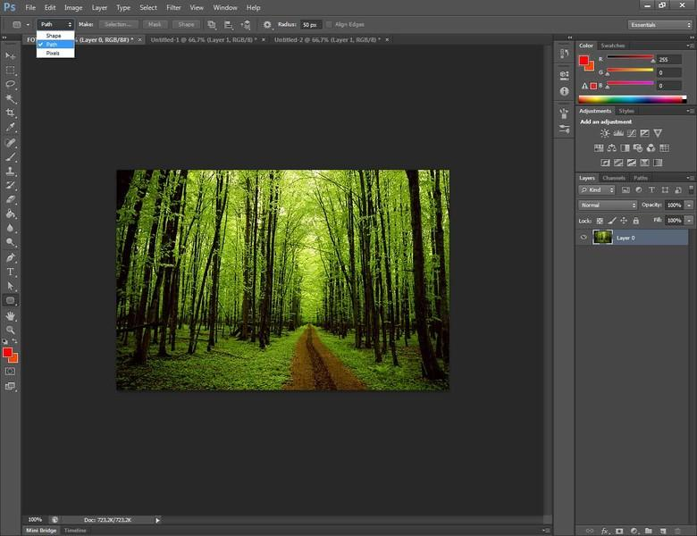 Come arrotondare i bordi di una foto