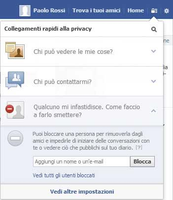 Come bloccare una persona su Facebook
