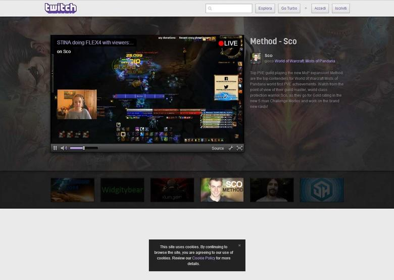 Come fare streaming su Twitch