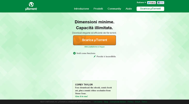 Come scaricare file Torrent