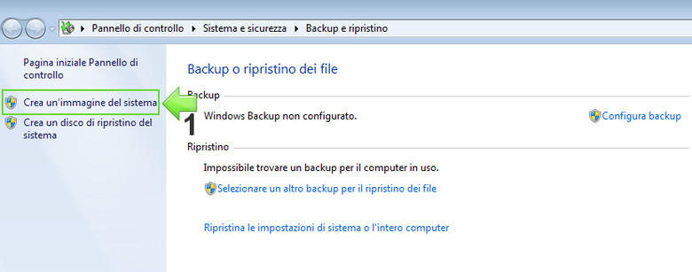 Creare un File di Immagine del sistema operativo Windows 7