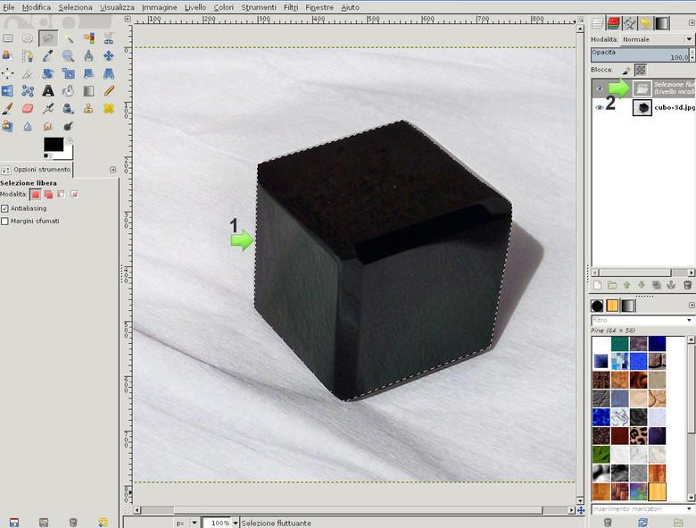 Togliere lo sfondo di una Foto con GIMP
