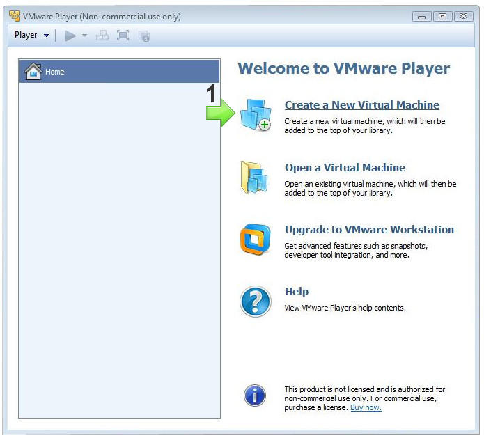 Virtualizzare Windows 7 su sistemi Windows con VMWare
