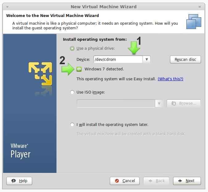 Virtualizzare Windows su Linux con VMWa