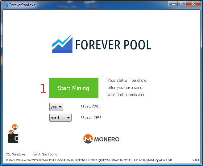 Minare Monero Forever Pool Software