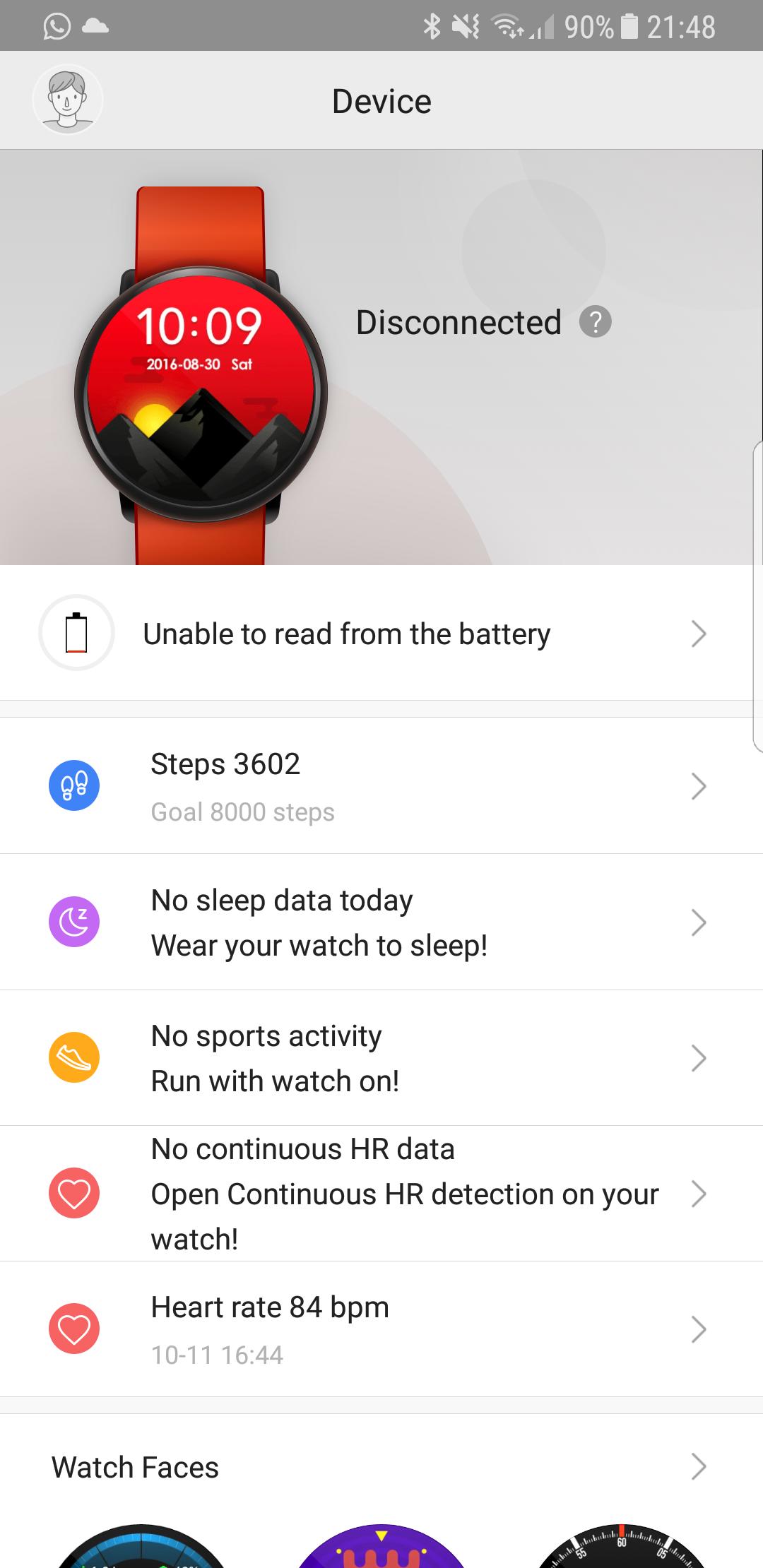 Amazfit pace app software